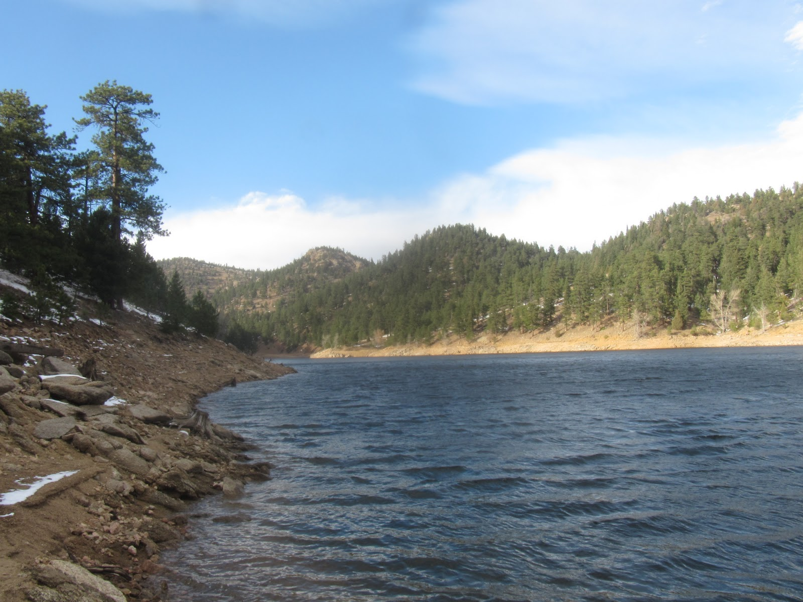 treasures of the rockies gross reservoir fishing