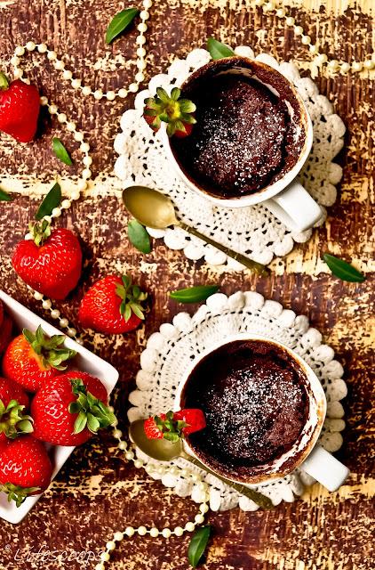 Easy Chocolate Mug Cake No Milk