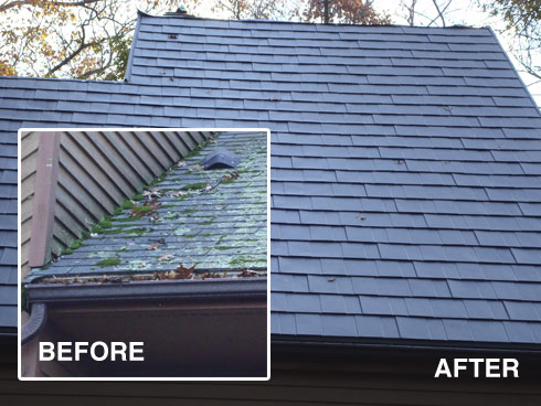 Metal Shingles Have Much More Curb Appeal Than Asphalt Shingles.