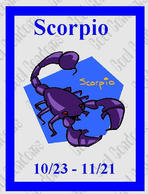 signo escorpio estampilla