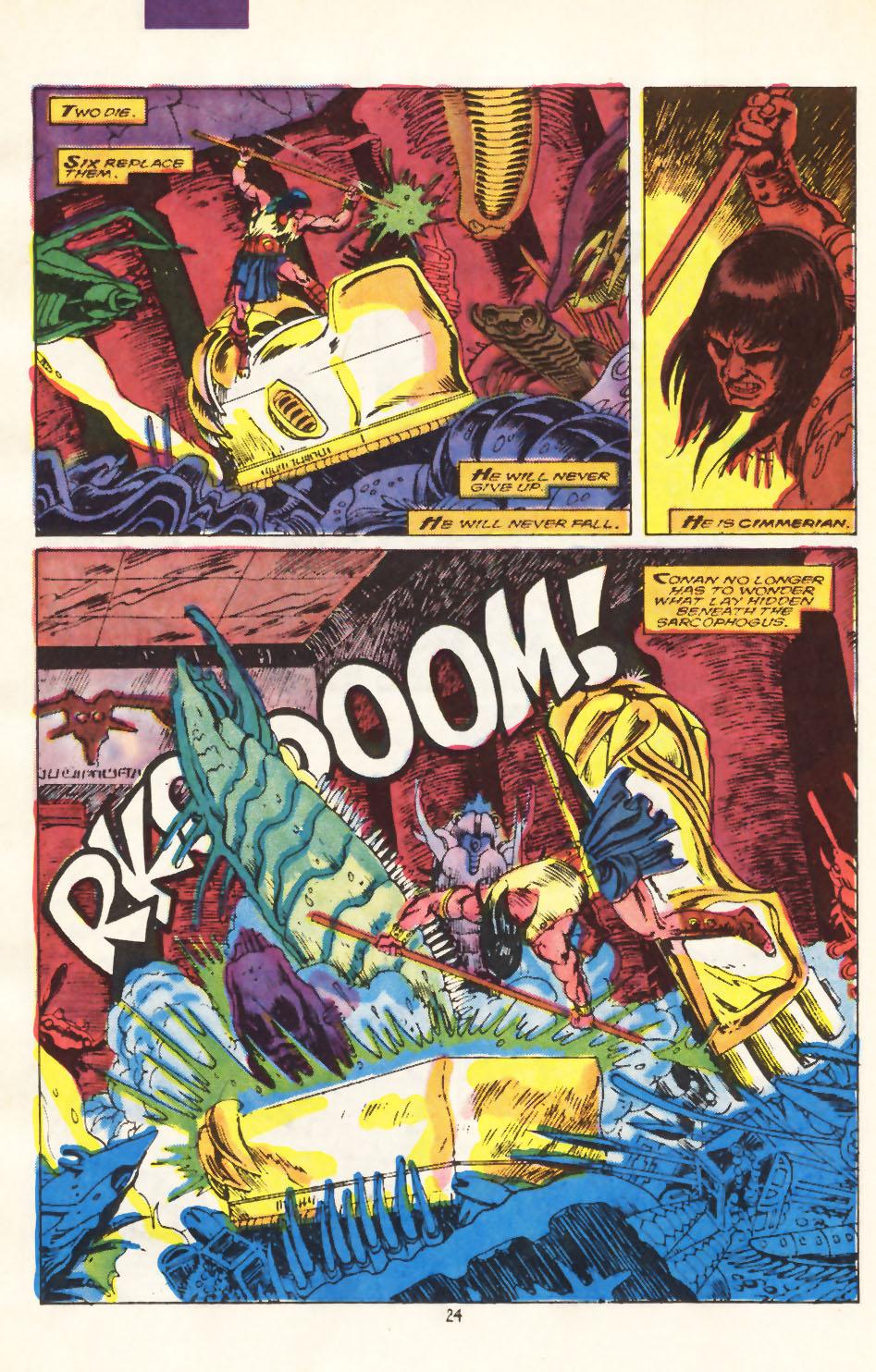 Conan the Barbarian (1970) Issue #212 #224 - English 18