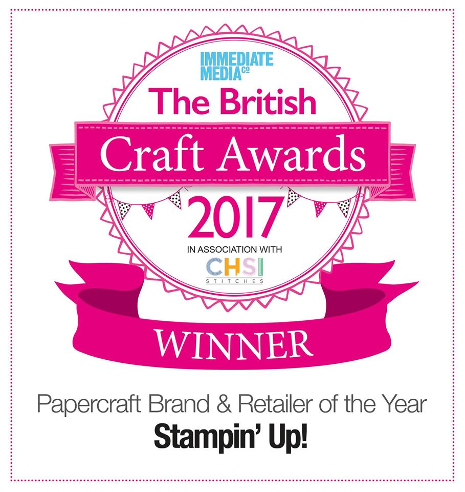 Stampin' Up! Award