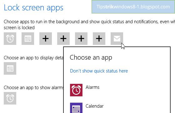 notifikasi lock screen di windows 8.1 -- cara mengatur dan menghilangkan notifikasi di windows 8.1