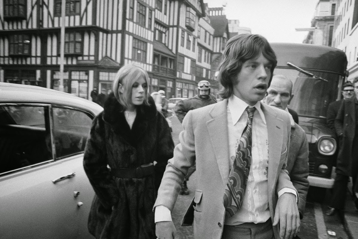 Image result for Marianne Faithfull mick