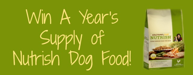 Win a year's supply of Nutrish Dog Food