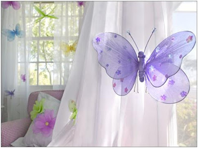 Butterfly Bedrooms Ideas To Decorate A Girls Bedroom With Butterflies Butterfly Decoration