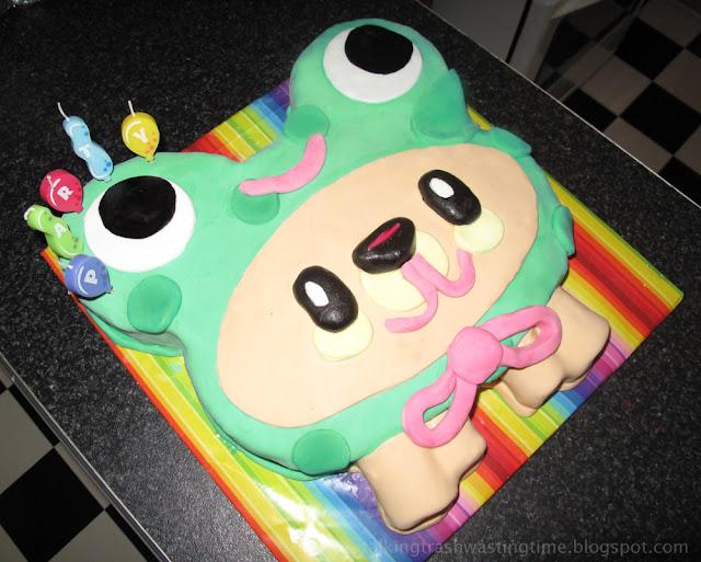 Moshi Monster Scamp birthday cake