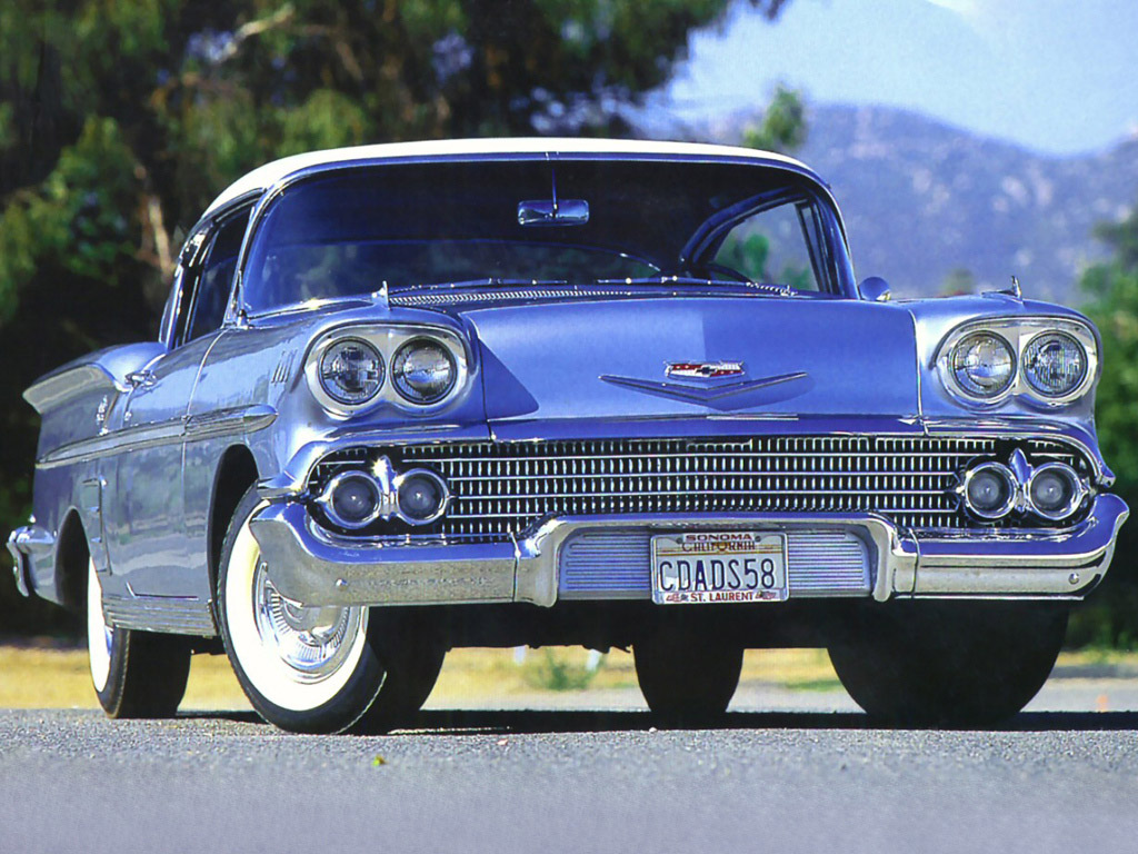 CARS IN FILMS  1958 CHEVROLET BEL AIR