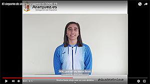 VIDEO: El deporte de Aranjuez, contra el Covid-19