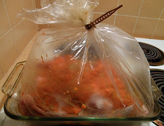 Bag of Turkey and Veggies REady to Cook