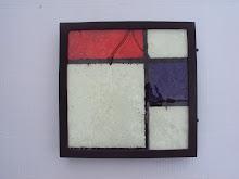 Composição em Azul e Vermelho (Série Homenagem a Mondrian), 2010