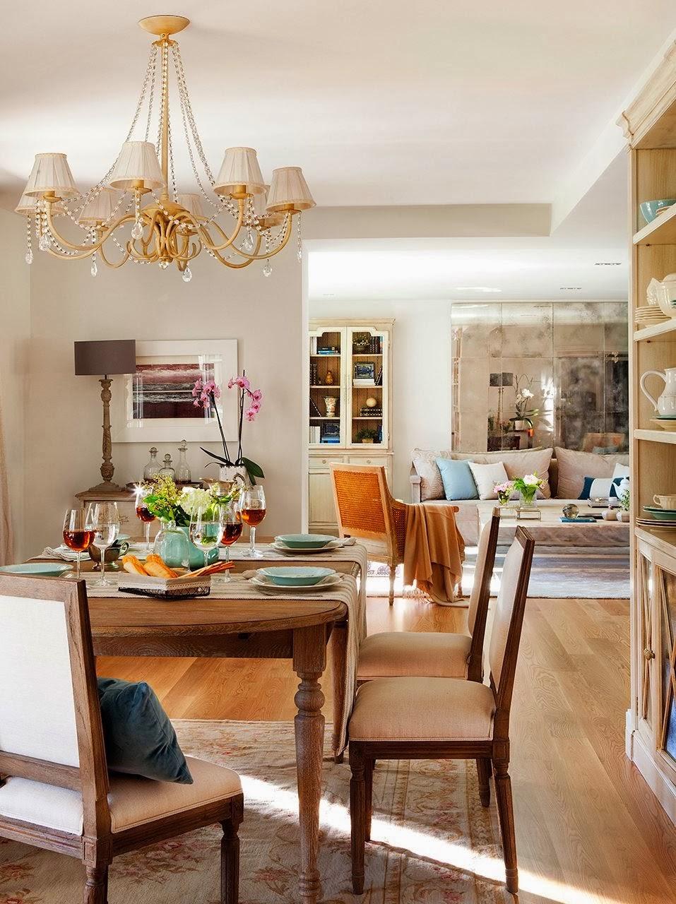 Detalhes de uma casa elegante e feminina jeito de casa blog de decora o e arquitetura - El mueble comedores ...