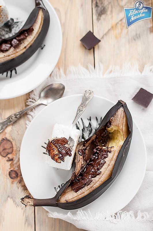 Banany pieczone w piekarniku
