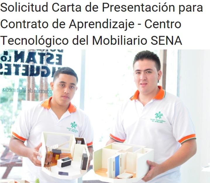 SOLICITUD CARTA DE PRESENTACIÓN
