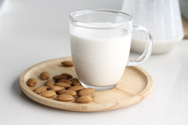 Homemade almond milk is soo creamy and very delicious with my morning ...