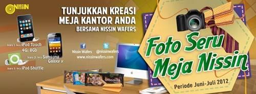 Kontes Foto Seru Meja Nissin (Juni –  15 Juli 2012)