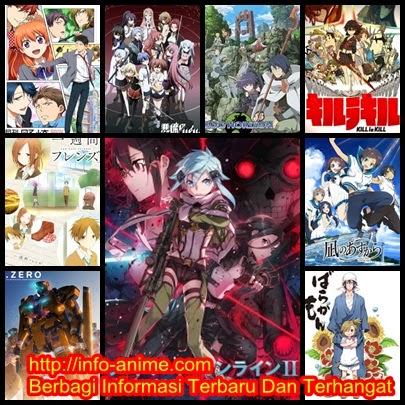 [ Info-Anime ] Top 10 Anime Terbaik Ditahun 2014