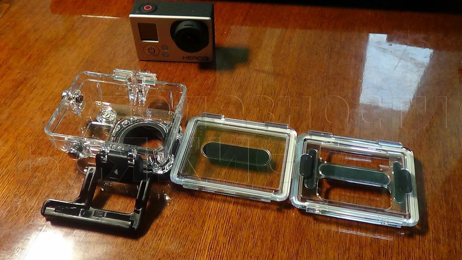 стандартный комплект к камере gopro