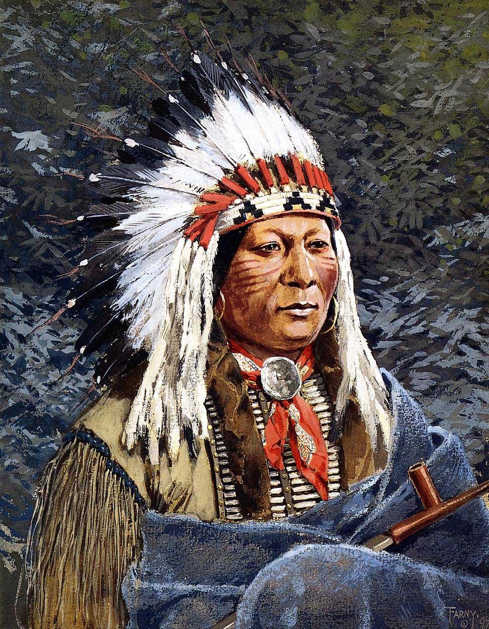 Los Indígenas de Norteamérica