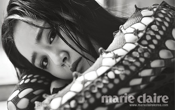 Moon Ga Young - Marie Claire May 2014
