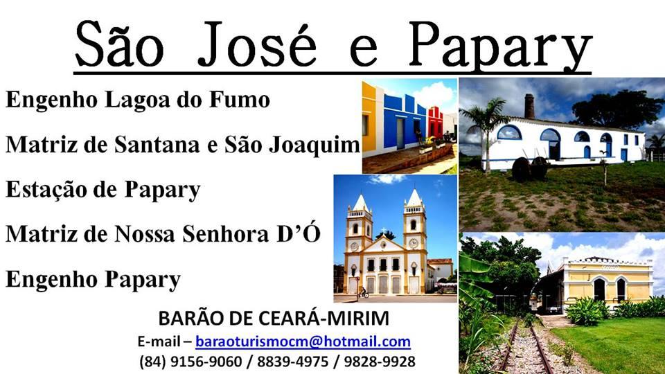 ROTA HISTÓRICA DE SÃO JOSÉ E NÍSIA FLORESTA