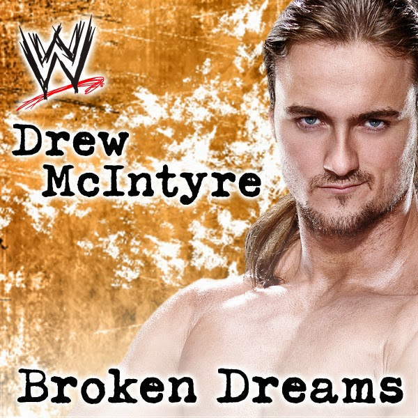 Shaman's Harvest & Jim Johnston - WWE: Broken Dreams (Drew McIntyre) [featuring Shaman's Harvest] - Single Cover