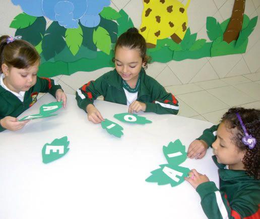 plano de aula para trabalhar famílias silábicas na educação infantil
