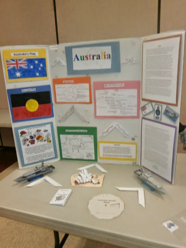 Our Unschooling Journey Through Life Geography Fair Day