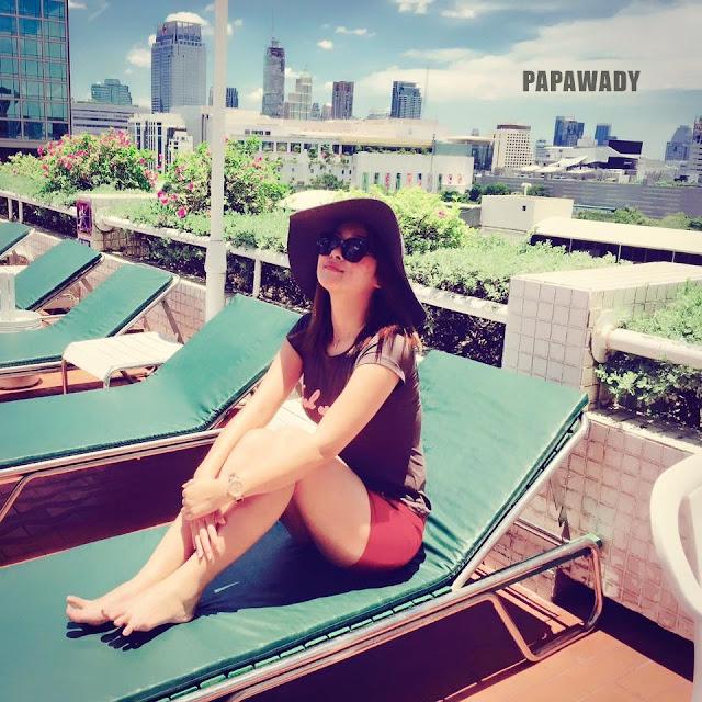 Snapshots : Myanmar Actress Moe Yu San in Bangkok