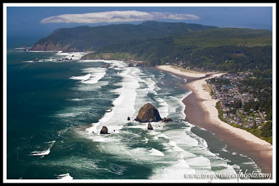 Cannon Beach Aerial