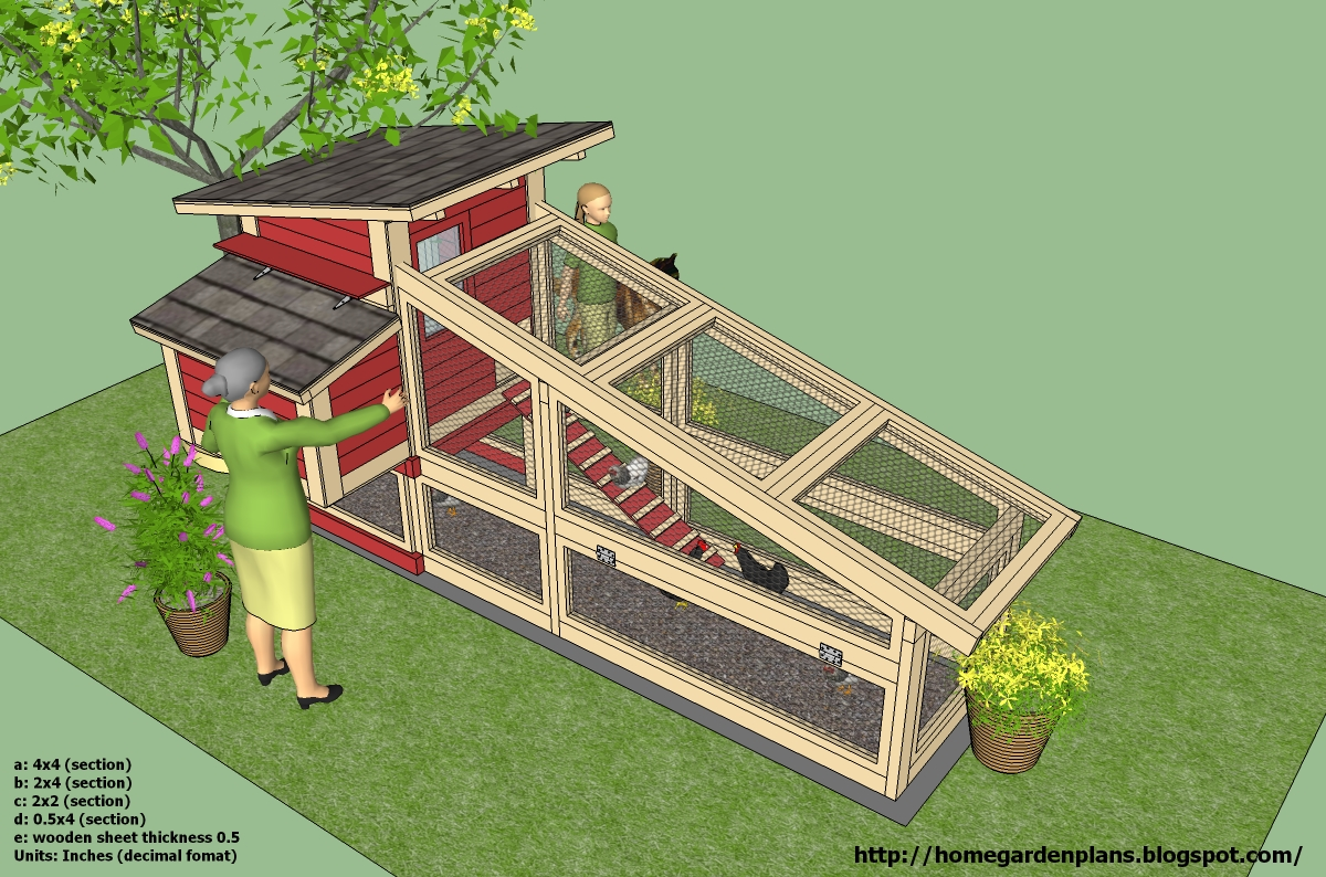 Home garden plans s100 chicken coop plans construction for Home to build plans