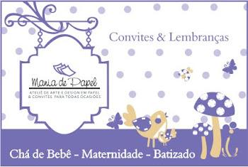 Convites e Lembranças bebês