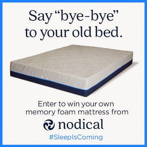 Enter to win a Nodical Bed - (3) Winners !