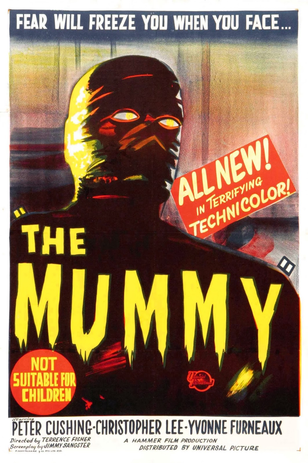 Ha fallecido el actor Cristopher Lee. Mummy_1959_poster+%281%29