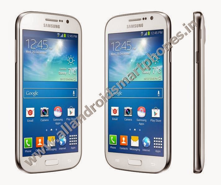 Samsung Galaxy Grand Neo Dual Sim 3G Android Phablet White Color Front Side Images Photos Review