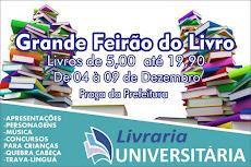 BOA CHANCE DE COMPRAR LIVROS BARATOS. GRANDE FEIRÃO DE LIVROS, DE 4 A 9/12, NA PRAÇA DA PREFEITURA
