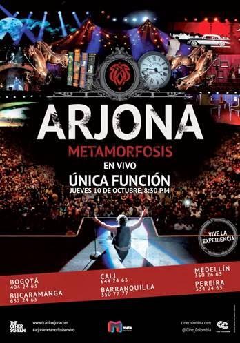 RICARDO-ARJONA-METAMORFOSIS-VIVO-ÚNICA-PRESENTACIÓN-CINE-COLOMBIA