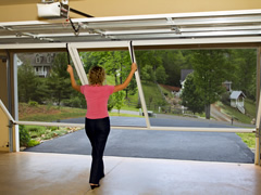 Screenmobile garage door screens