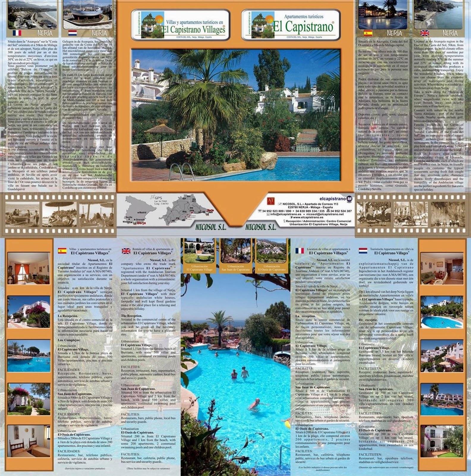 El Capistrano folleto online - Nicosol, SL.