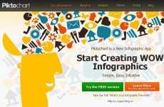 Hacer infografías online Pikchart
