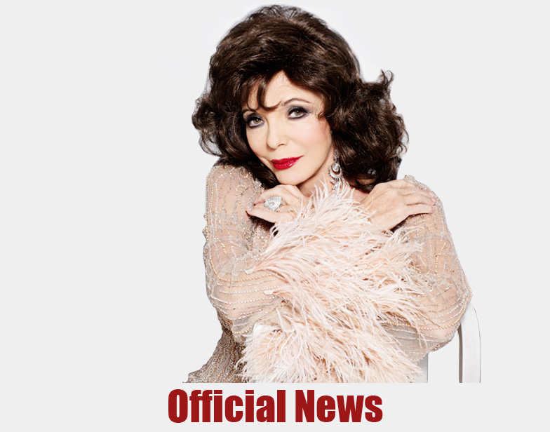 Joan Collins Official News