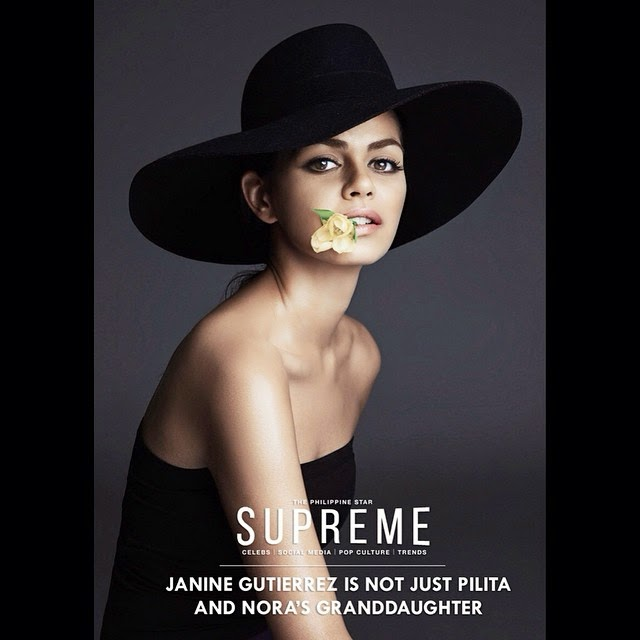 Janine Gutierrez for PhilStar Supreme