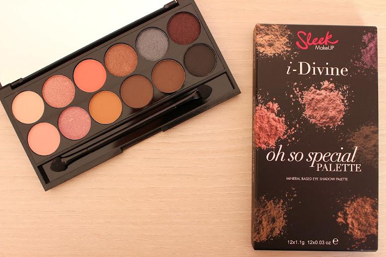 Revue la palette i divine Oh So Special Sleek makeup