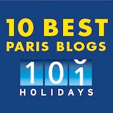 Entre to Black Paris: One of 10 Best Paris Blogs