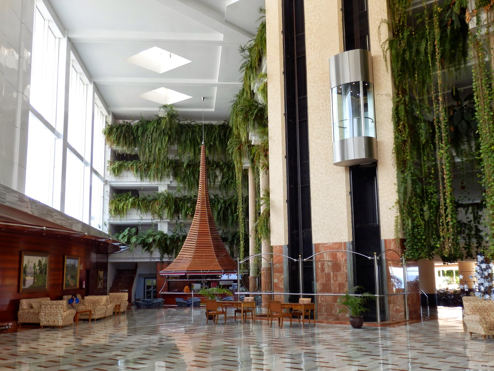 Tenerife hotel reception
