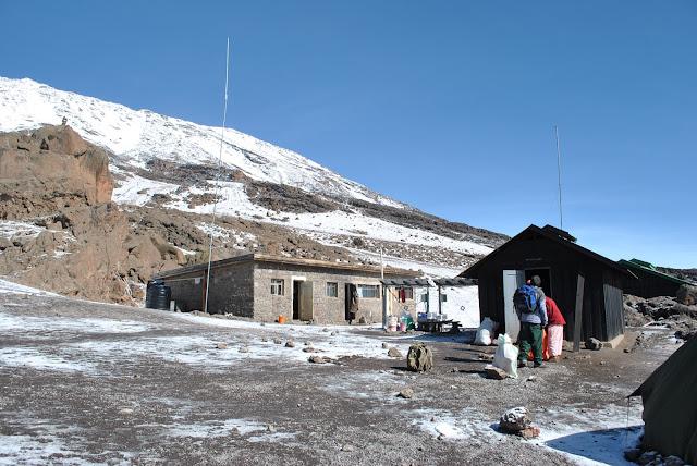 Kibo Hut, Mount Kilimanjaro Tanzania