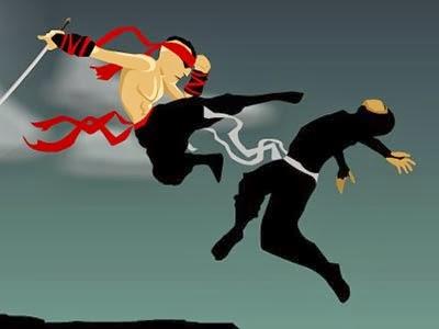 لعبة الهروب من النينجا Ninja run اون لاين - العاب 2014