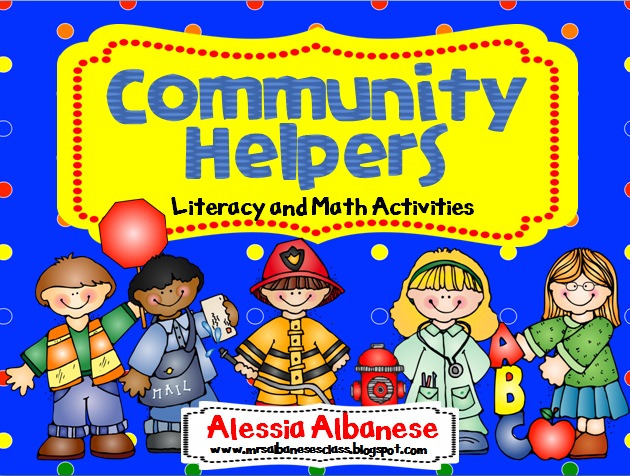 Community Helpers Hats Clip Art My community helpers unit
