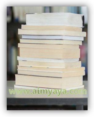 Gambar: Ilustrasi tumpukan buku