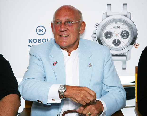 Sir Stirling Moss, lenda da Fórmula 1 (Foto: Getty Images)
